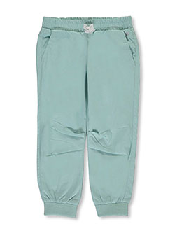 "Carter's Little Girls' ""Lined Poplin"" Joggers (Sizes 4 – 6X) - CookiesKids.com"