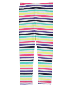 "Carter's Little Girls' Toddler ""Stripes Galore"" Leggings (Sizes 2T – 4T) - CookiesKids.com"
