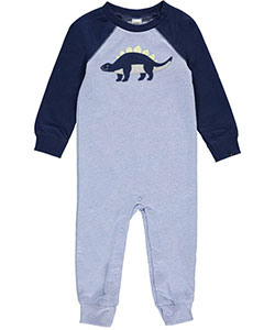 "Carter's Baby Boys' ""Embroidered Dinosaur"" Pram Suit - CookiesKids.com"