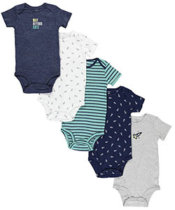 "Carter's Baby Boys' ""Way Beyond Cute"" 5-Pack Bodysuits - CookiesKids.com"