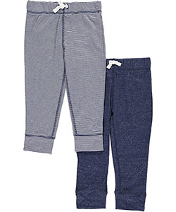 "Carter's Baby Boys' ""Easy Stripes"" 2-Pack Joggers - CookiesKids.com"