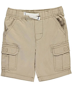 "Carter's Little Boys' Toddler ""Twill Solid"" Cargo Shorts (Sizes 2T – 4T) - CookiesKids.com"