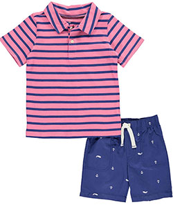 "Carter's Little Boys' Toddler ""Cape Island"" 2-Piece Outfit (Sizes 2T – 5T) - CookiesKids.com"