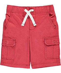 "Carter's Little Boys' ""Twill Solid"" Cargo Shorts (Sizes 4 – 7) - CookiesKids.com"