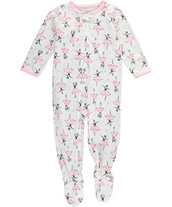 "Carter's Baby Girls' ""Ballet Solo"" Footed Pajamas - CookiesKids.com"