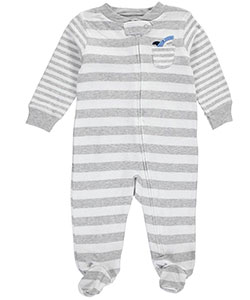 "Carter's Baby Boys' ""Shark Patch"" Footed Coverall - CookiesKids.com"
