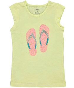 "Carter's Little Girls' Toddler ""Fish Love"" Top (Sizes 2T – 4T) - CookiesKids.com"