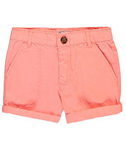 "Carter's Little Girls' ""Chill Twill"" Short Shorts (Sizes 4 – 4X) - CookiesKids.com"