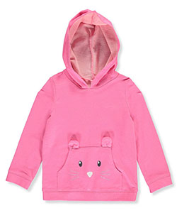 "Carter's Little Girls' Toddler ""Kitty Wink"" French Terry Hoodie (Sizes 2T – 5T) - CookiesKids.com"