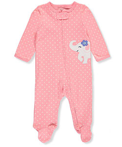 Carter's Baby Girls' Footed Coverall - CookiesKids.com