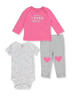 Carter's Baby Girls' 3-Piece Outfit - CookiesKids.com