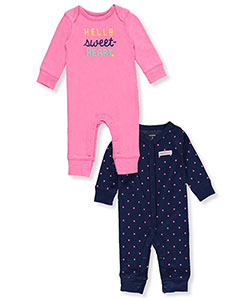 Carter's Baby Girls' 2-Pack Coveralls - CookiesKids.com