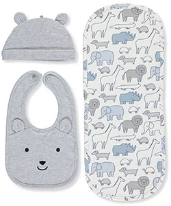 Carter's Baby Boys' 3-Piece Baby Accessories Set - CookiesKids.com