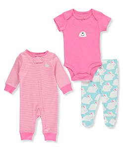 Carter's Baby Girls' 3-Piece Layette Set - CookiesKids.com