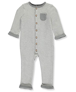 Carter's Baby Boys' Reversed Terry Coverall - CookiesKids.com