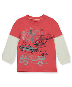 Carter's Little Boys' Toddler Slider Shirt (Sizes 2T – 5T) - CookiesKids.com