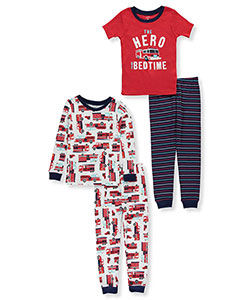 Carter's Little Boys' Toddler 4-Piece Sleep Set (Sizes 2T – 5T) - CookiesKids.com