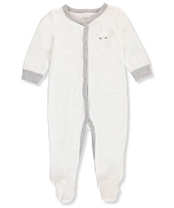 Carter's Unisex Baby Waffle Footed Coverall - CookiesKids.com