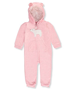 Carter's Baby Girls' Fleece Coverall - CookiesKids.com