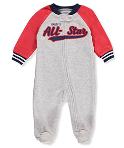 Carter's Baby Boys' Fleece Footed Coverall - CookiesKids.com