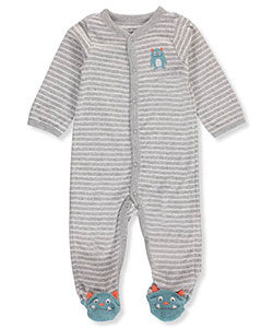Carter's Baby Boys' Terry Footed Coverall - CookiesKids.com