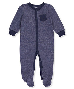 Carter's Baby Boys' Waffle Footed Coverall - CookiesKids.com