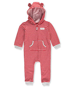 Carter's Baby Boys' Knit Fleece Footed Coverall - CookiesKids.com