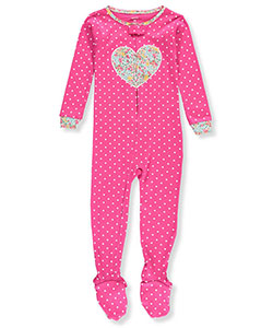 Carter's Little Girls' Toddler Footed Coverall (Sizes 2T – 4T) - CookiesKids.com