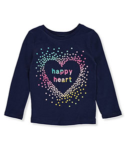 Carter's Little Girls' Toddler L/S T-Shirt (Sizes 2T – 5T) - CookiesKids.com