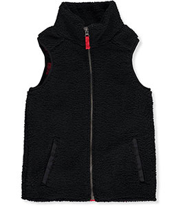 Carter's Little Boys' Sherpa Fleece Vest (Sizes 4 – 7) - CookiesKids.com