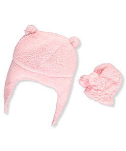 Carter's Baby Girls' Beanie & Mittens Set - CookiesKids.com