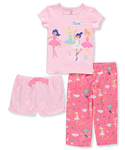 Carter's Baby Girls' 3-Piece Pajamas - CookiesKids.com