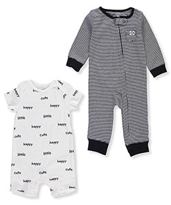 Carter's Baby Boys' 2-Pack Romper and Coveralls - CookiesKids.com