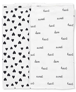 Carter's 2-Pack Swaddle Blankets - CookiesKids.com