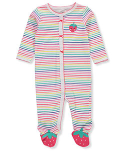 Carter's Baby Girls' Footed Coveralls - CookiesKids.com
