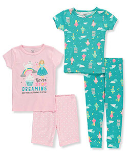 Carter's Baby Girls' 4-Piece Pajama Set - CookiesKids.com