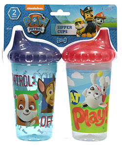 "Paw Patrol ""Duty Calls!"" 2-Pack Sipper Cups 10 oz. - CookiesKids.com"