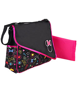 Minnie Mouse Large Diaper Messenger Bag - CookiesKids.com