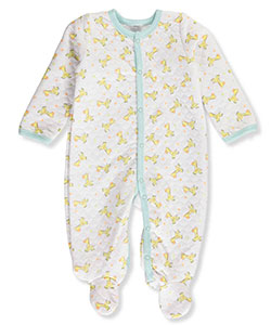 Little Beginnings Baby Boys' Footed Coverall - CookiesKids.com
