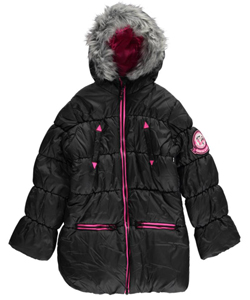 "Hawke Sport Big Girls' ""Warm Lasers"" Insulated Jacket (Sizes 7 – 16) - CookiesKids.com"