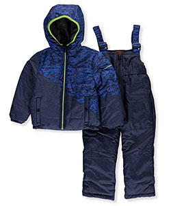 Hawke & Co. Little Boys' 2-Piece Snowsuit (Sizes 4 – 7) - CookiesKids.com