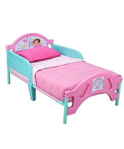 Dora the Explorer Toddler Bed - CookiesKids.com