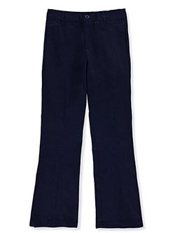 Denice Big Girls' Stretch Uniform Pants (Sizes 7 - 16) - CookiesKids.com