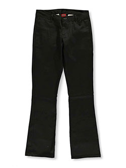 Denice Stretch Big Girls' Junior Uniform Pants - CookiesKids.com