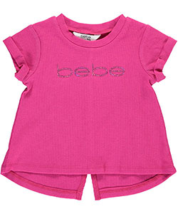 "Bebe Baby Girls' ""High Shine"" Top - CookiesKids.com"