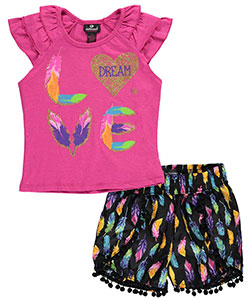 "Dollhouse Big Girls' ""Featherweight"" 2-Piece Outfit (Sizes 7 – 16) - CookiesKids.com"