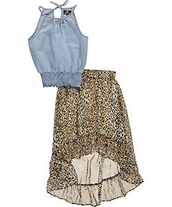 "Dollhouse Big Girls' ""Fly Style"" 2-Piece Outfit (Sizes 7 – 16) - CookiesKids.com"