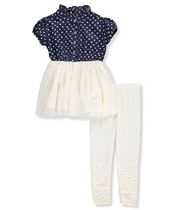 Dollhouse Little Girls' Toddler 2-Piece Outfit (Sizes 2T – 4T) - CookiesKids.com