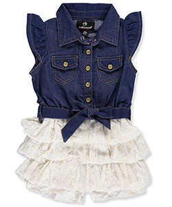 Dollhouse Baby Girls' Romper - CookiesKids.com