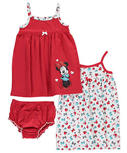 "Minnie Mouse Baby Girls' ""Bold Minnie"" 2-Pack Dresses - CookiesKids.com"